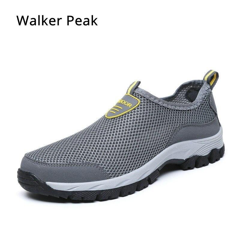 Männer Sommer Mesh Leichte atmungsaktive Wohnungen Sport Sneaker Sandalen Schuhe
