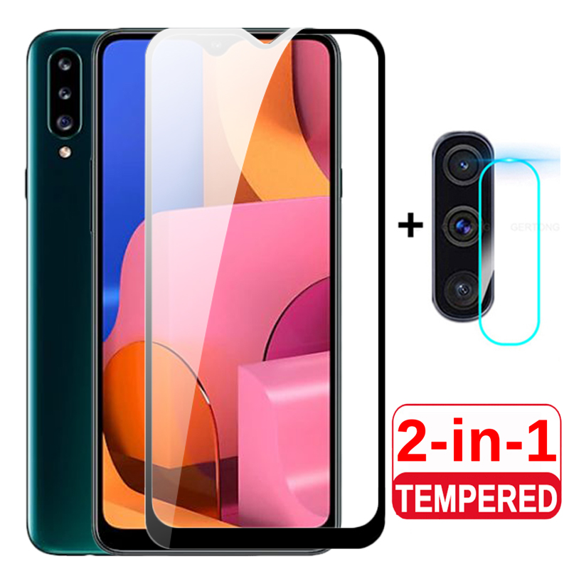 2 in 1 3D Protective <font><b>Glass</b></font> For <font><b>Samsung</b></font> Galaxy A20S Camera Tempered <font><b>Glass</b></font> For Samsun A20 <font><b>A</b></font> <font><b>20</b></font> 20s A20S Front Protector Phone Film image