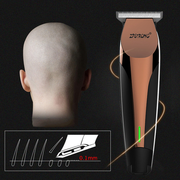100-240V professional Hair Trimmer Rechargeable Electric Clipper Beard For Men 0 mm Barber Cordless haircut machine