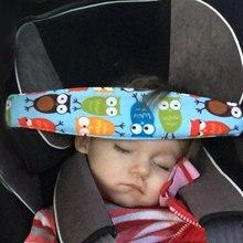 Asiento de seguridad de coche, posicionador de sueño para bebés, banda de sujeción para cabeza para niños, cochecito de bebé, cinturón de sujeción, correa para dormir ajustable