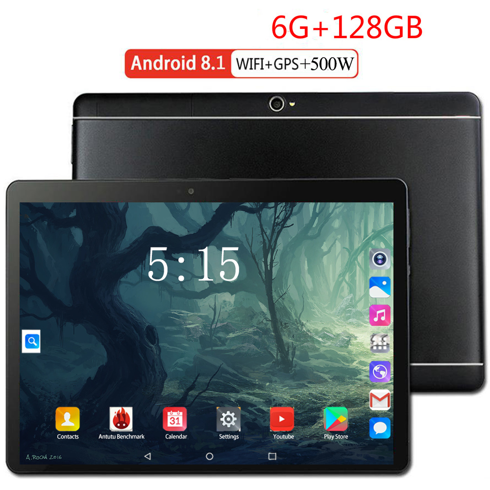 Cheapest Android 8.0 Tablet PC 4G FDD LTE 10 Inch Octa Core RAM 6GB ROM 128GB Smart Phone WIFI Android 9.0 Tablet For Kids Gift