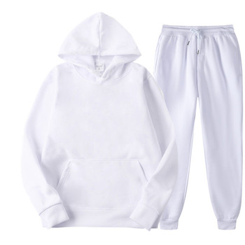 BOLUBAO Brand Men Sports Casual Sets New Men's Hoodies + Pants Two-Piece Suit Tracksuit Fashion Solid Color Sets Male 2