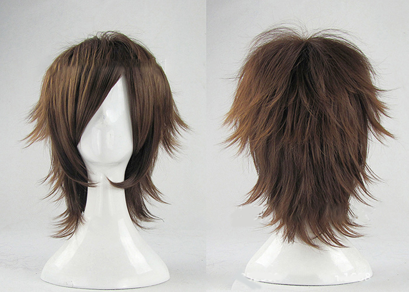 HAIRJOY  Synthetic Hair Wigs Short Curly Layered Cosplay Wig  4 Colors Available 20