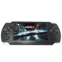 Violet 32 Bit A10 X6 Color Screen Psp4.3 Inch Children Handheld Game Console GB, FC MP5 MP4 Player