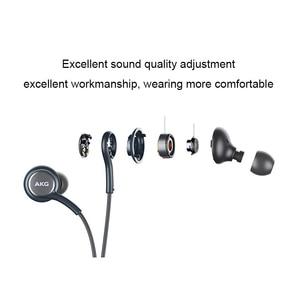 Image 3 - סמסונג AKG אוזניות ב קו שליטה עם מיקרופון 3.5mm Wired אוזניות מוסיקה אוזניות ספורט אוזניות S10 S9 S8 חכם טלפונים