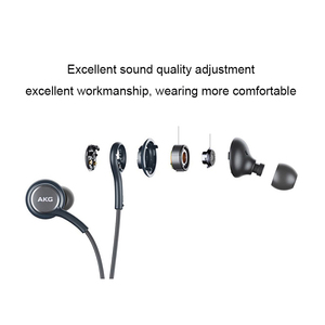 Image 3 - SAMSUNG AKG earphone In line Control with Mic 3.5mm Wired Earphone Music Headset Sport Headset S10 S9 S8 Smart Phones