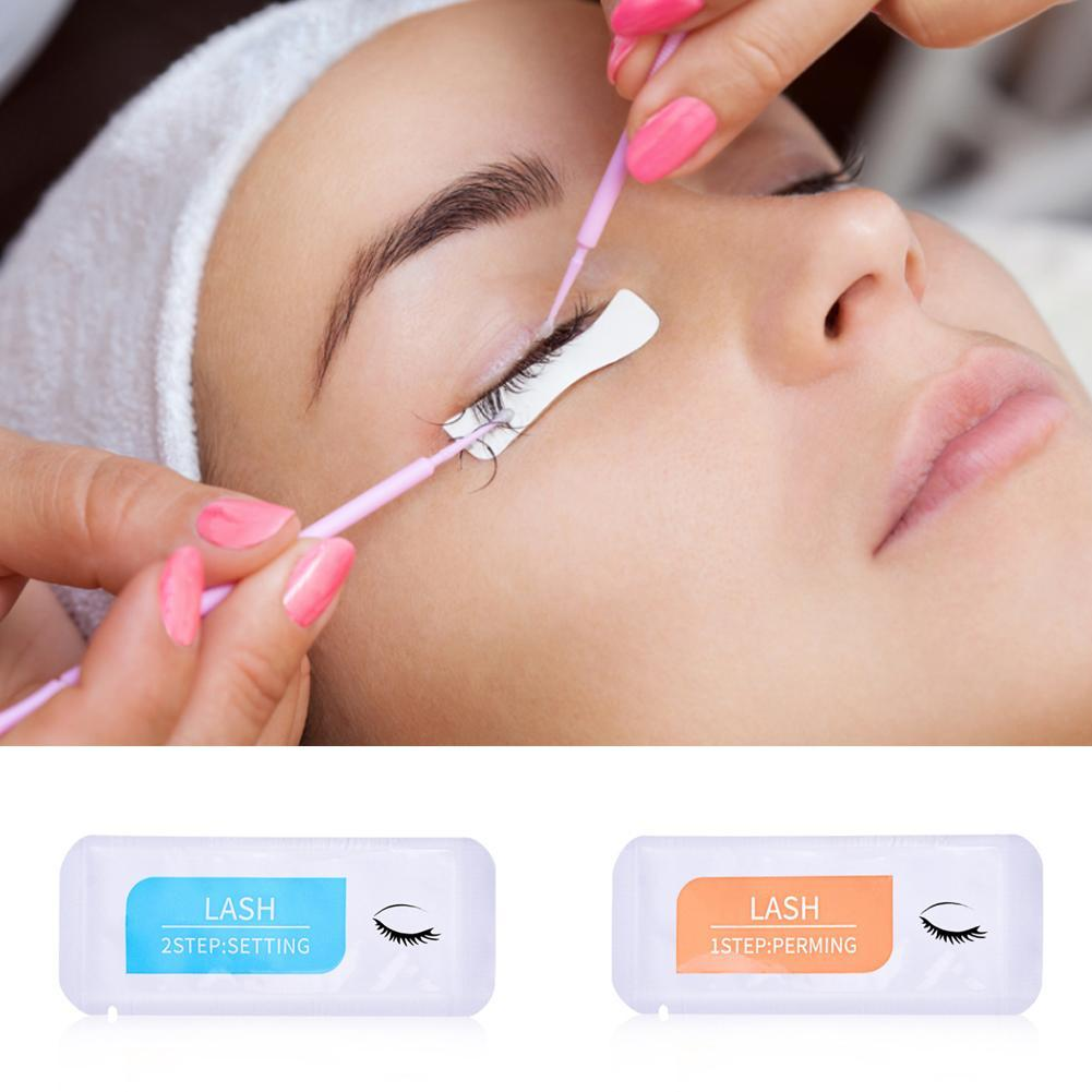Brow Lamination Kit Eyelash Glue Non Irritating Adhesive Glue Cream Remover Fixer Fast Setting Perming Eyelash Extension Tool