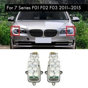 Новый левый и правый для BMW F01 F02 F03 фар Светодиодный Поворотная сигнальная лампа диод Управление Модуль блок 63117339057 63117339058