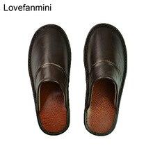 정품 암소 가죽 슬리퍼 커플 실내 미끄럼 방지 남성 여성 홈 패션 캐주얼 싱글 신발 PVC 소프트 솔 봄 여름 518