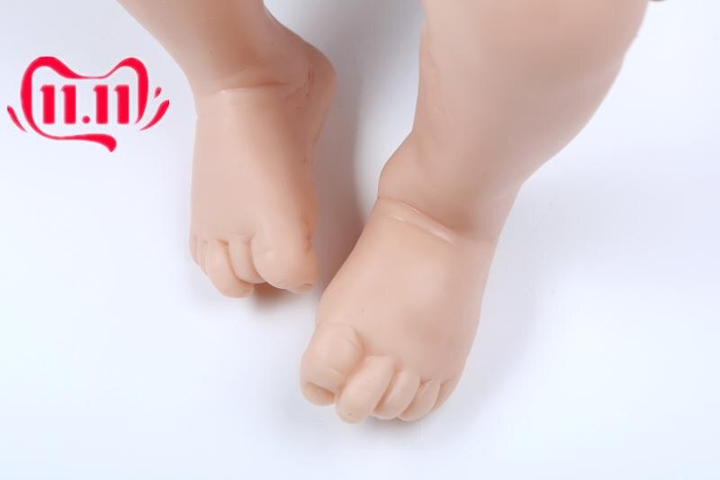 Reborn Doll Kit with 3//4 Limbs ~ Reborn Supply Doll Kit Unpainted 20/'/' Handmade