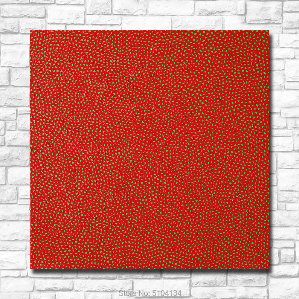 Wall Art Yayoi Kusama - Infinity-Nets Painting For Living Room Home Decoration Oil Painting On Canvas Wall Painting NO Frame