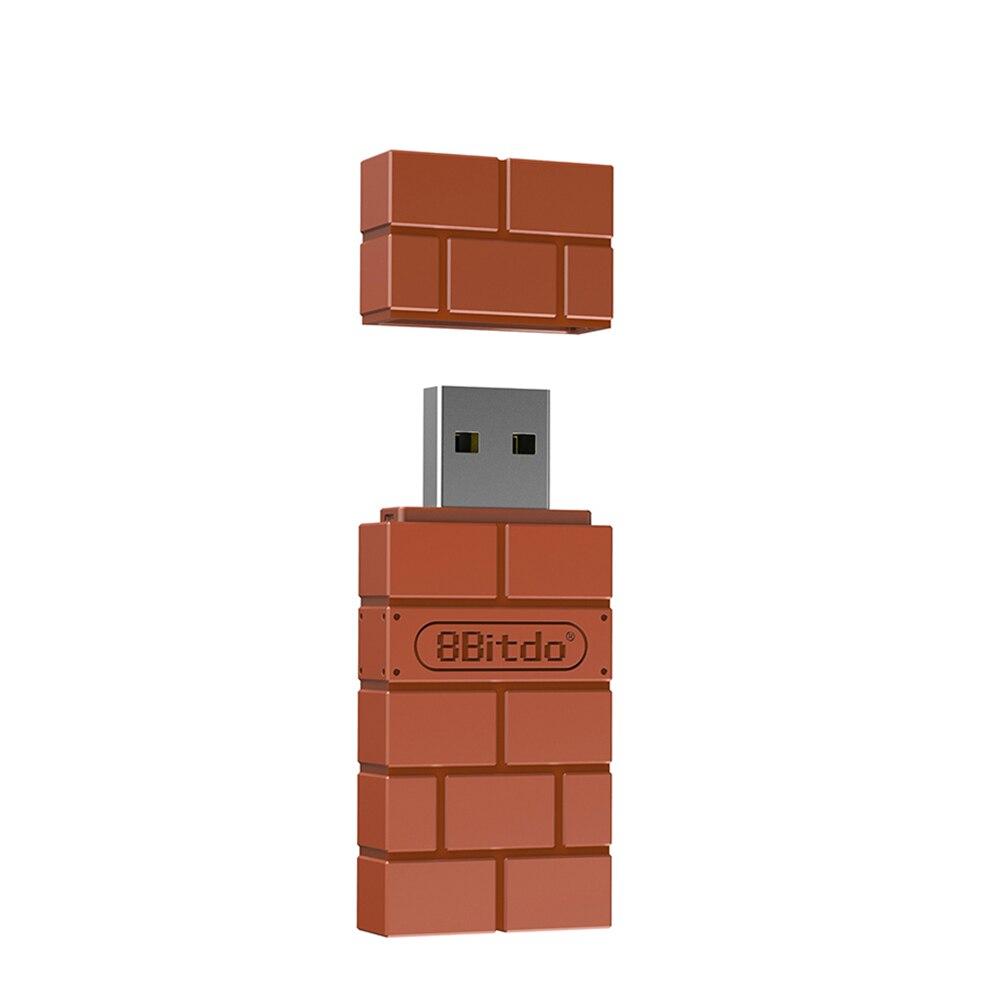 8 битдо игровой беспроводной адаптер BT Совместим с переключателем Nintendo PS4 Windows Mac для Raspberry Pi USB беспроводной приемник