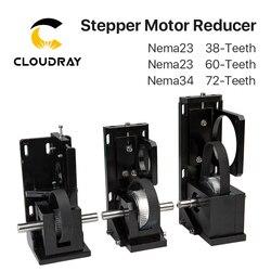 Réducteur de moteur pas à pas Cloudray Nema23 38 dents/Nema23 60 dents/Nema34 72 dents pour Machine de découpe et gravure Laser CO2