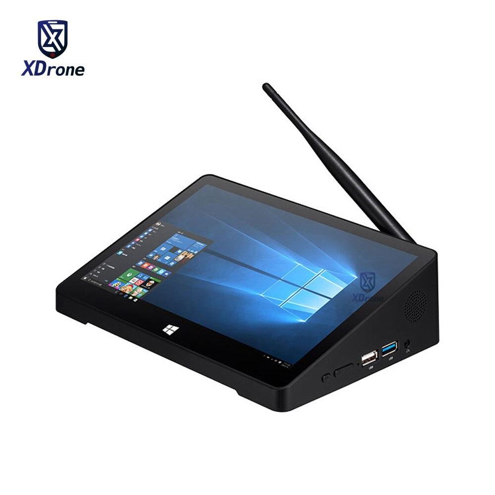 Оригинальный мини-ПК X10 PRO, моноблок, настольный компьютер, планшет, POS, Windows 10, сенсорный экран 10,8 дюйма, Wi-Fi, Intel, четыре ядра, RJ45
