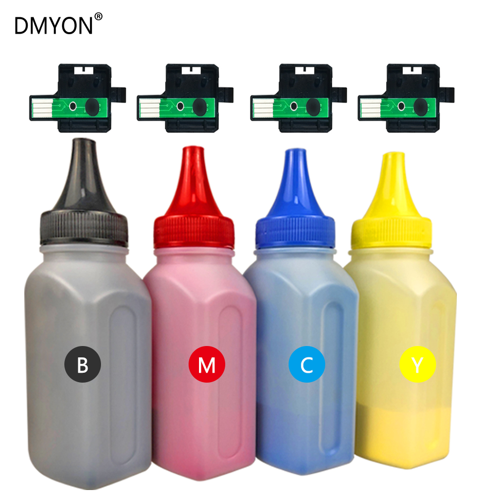 DMYON Refill Toner Powder Compatible for <font><b>Xerox</b></font> 6125 6128 6130 <font><b>6140</b></font> Laser Printer Toner Powders Black and Color Toners image