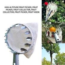 Head-Basket Catcher Pear-Collector Citrus Garden-Tool Peach-Picking Harvest Fruit Picker