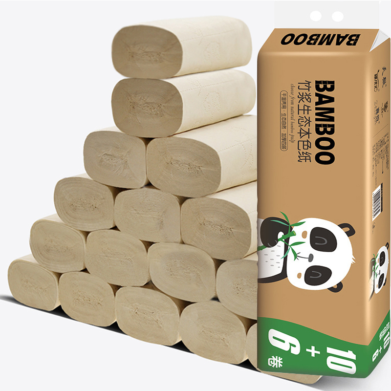 16 Rolls Of Toilet Paper 4 Layers Of Bathroom Toilet Paper Kitchen Paper Cleaning Paper Towels Native Wood Pulp Paper