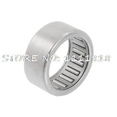 20mm X 26mm X 12mm HK202612 Caged Drawn Cup Needle Roller Bearing Silver Tone
