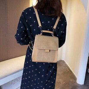 Image 5 - Kobiety modny plecak kobiet wysokiej jakości peeling skórzany książkowy torby szkolne dla nastoletnich dziewcząt Sac Dos plecak podróżny Mochilas
