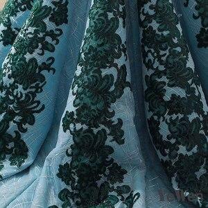 Image 5 - 高級ストラップレスグリーンイブニングドレス 2020 ロングレースウエディングフォーマルパーティードレスボールガウン abendkleider クリスマスドレス