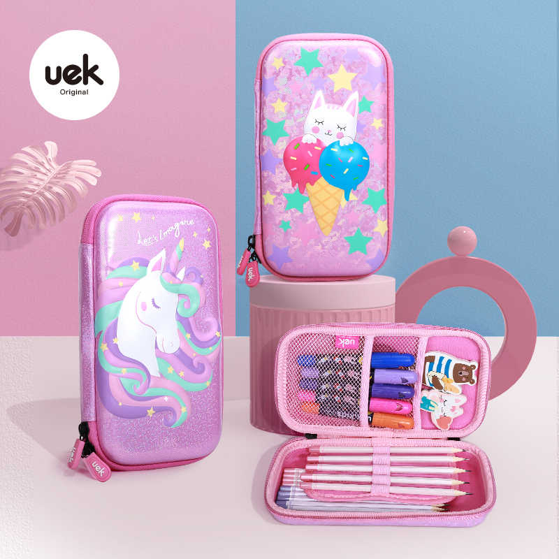 gift for tweens small zip pouch Pink unicorn pouch unicorn bag under 10 gift ideas