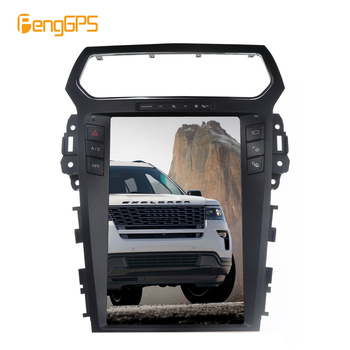 4+64G 8.1 Tesla style Car Radio Vertical Screen For Ford Explorer 2011+ GPS Navigation Radio Recorder Headunit Multimedia Player