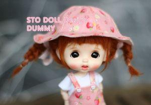 Image 2 - Pre sale  December  Sto dolls EGG  DUMMY   customization 1/8 BJD dolls OB doll  DIY Ob 11 doll  head