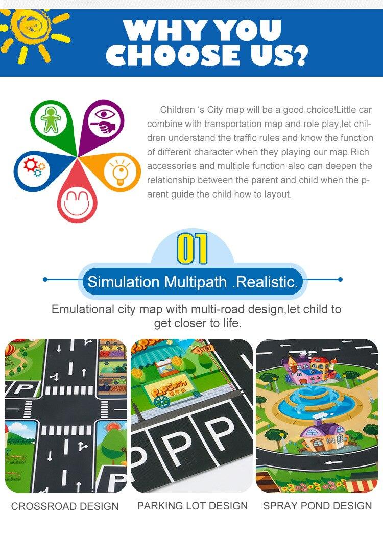 H6d4aa4d46e36473ba4518dd4e7eef15aK Large City Traffic Car Park Mat Play Kids Rug Developing Baby Crawling Mat Play Game Mat Toys Children Mat Playmat Puzzles ZXH