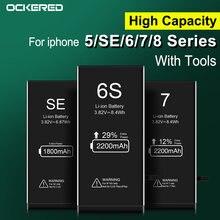 Аккумулятор для телефона 2020 мАч iphone 6s 5s se сменный аккумулятор
