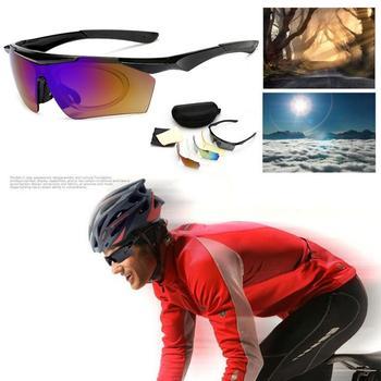 Outdoor Sport okulary rowerowe UV400 mężczyźni kobiety okulary rowerowe okulary MTB sportowe okulary przeciwsłoneczne wędkarstwo bieganie turystyka okulary nowość tanie i dobre opinie Unisex PC (lens) PC (frame)