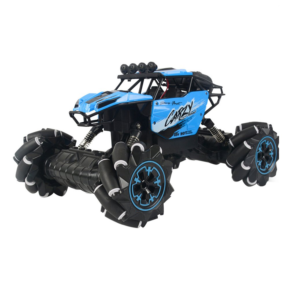 Four-Wheel Drive Lateral Drift Climbing Car Light Music Cross-Country Dancing Remote Control Car Horizontal Racing Toy