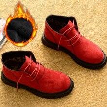 Nowy jesień zima buty damskie buty zimowe ciepłe pluszowe buty zimowe zimowe obuwie damskie moda kobiety kostki buty damskie botki