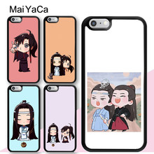 MaiYaCa Cartoon The Untamed Lan Zhan Wei Ying Phone Case For iPhone 11 Pro Max 6 6S 7 8 Plus 5 5S XS Max XR X Back Cover Coque(China)