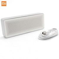 Xiaomi Mi Bluetooth Speaker Basic 2 Square Box 2 Stereo Portable Bluetooth 4.2 white High Definition HD Sound Quality Play