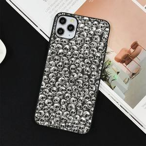 Image 4 - YNDFCNB Gothic Fashion Skull Phone Case for iPhone 11 12 pro XS MAX 8 7 6 6S Plus X 5S SE 2020 XR cover