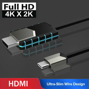 Nouveau MHL USB type C vers HDMI 1080P HD câble adaptateur câble TV pour téléphones Android pour Samsung câble Audio vidéo