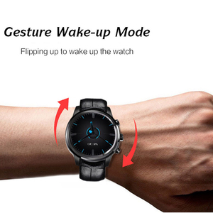 Image 3 - LEM5 GPS Men Sport Smart Watch Android 3G Bluetooth Call Heart Rate Monitor Fitness Tracker Pedometer Smartwatch Phone Watch