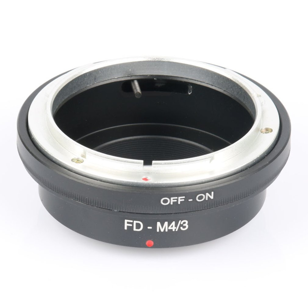 FD-M4 / 3 Adapter Ring 3 Lens Adapter for Canon FD Lens Micro 4/3 M4 / 3 Camera for Olympus Camera Lens Adapter image