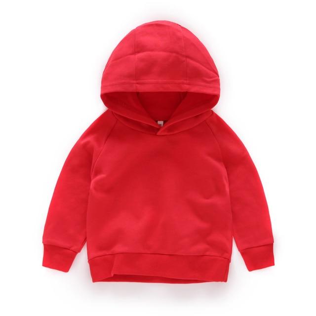 Kids Hoodies for Girls Children's Sweatshirt Child  Sportswear 4