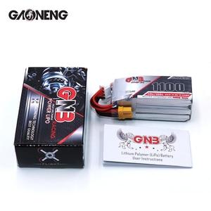 Image 5 - 2 шт. Gaoneng 11,4 в 1100 мАч 50C 3S HV 50C/100C 4,35 в литий полимерная батарея XT30 T XT60 разъем для радиоуправляемого FPV гоночного дрона