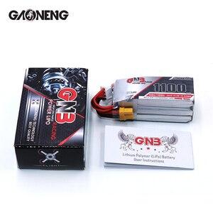 Image 5 - 2PCS Gaoneng 11.4V 1100Mah 50C 3S HV 50C/100C 4.35V Lipo סוללה XT30 T XT60 תקע עבור RC FPV מירוץ Drone