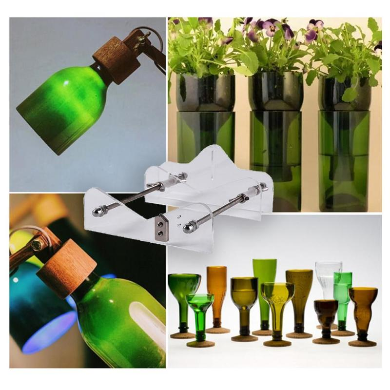 Stainless Steel Glass Bottle Cutter For DIY Wine Beer Bottle Glass Sculptures Creative Household DIY Craft Manual Tools