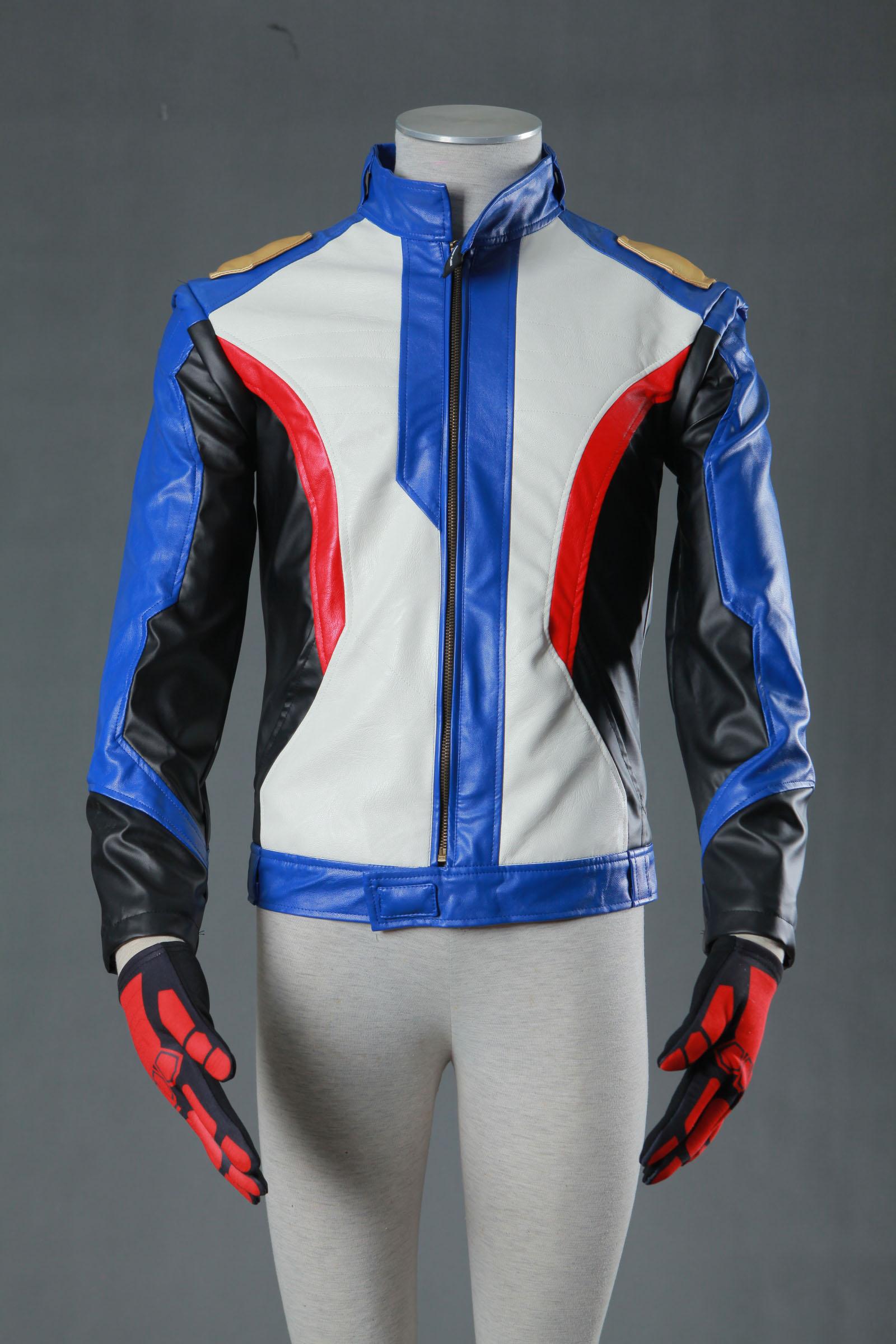 Overwatch OW Soldier 76 Halloween Cosplay Costume Soldier 76 Cosplay Uniform Jacket Halloween 2
