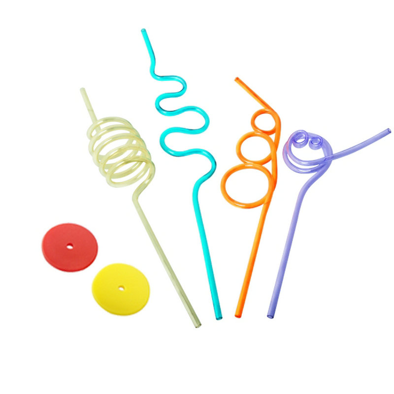 Kids Straw Training Kit Oral Muscle Training Tools Oral Rehabilitation Talking Tool Speech Therapy for Down's Autism(China)