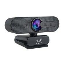 Cámara de Webcam HD de 1080P con micrófono incorporado HD, vídeo USB de 1920x1080p
