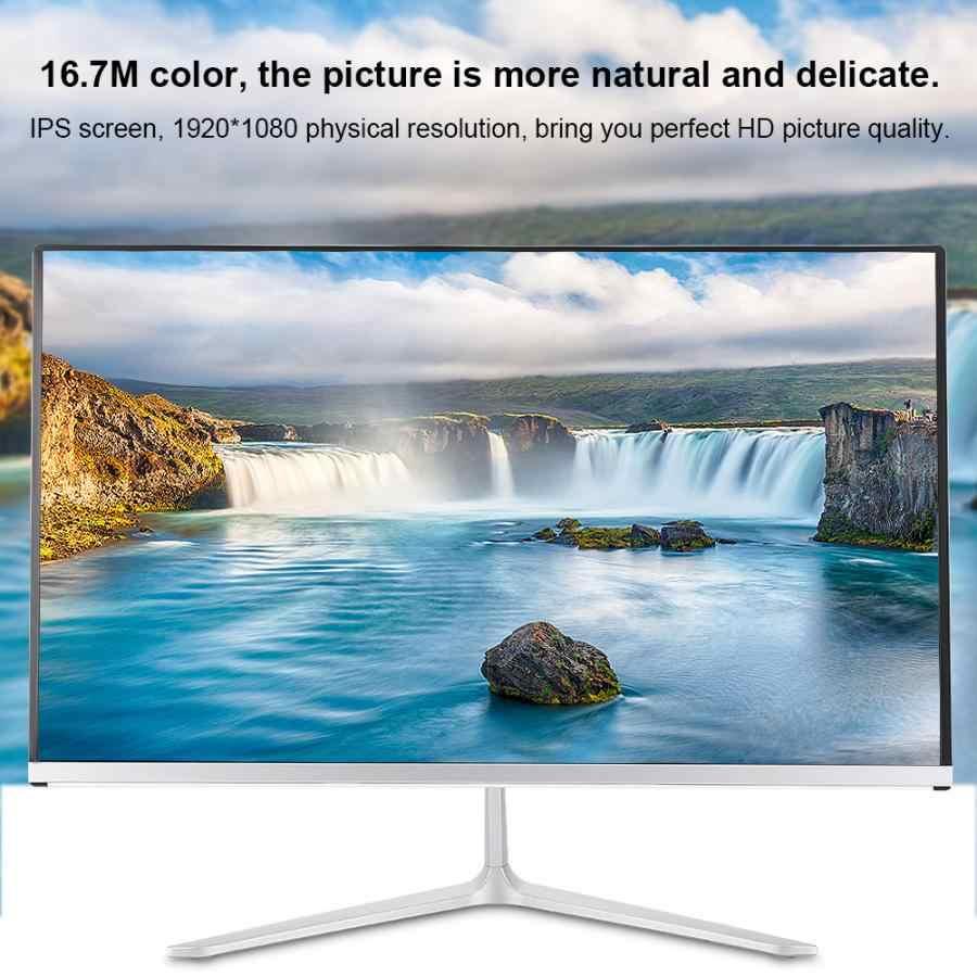 """21.5 """"AMD-A10-4600 HD 7660 グラムオールインワンコンピュータ 4 ギガバイト + 120 ギガバイトオフィスデスクトップ 1920*1080 16:9 6800 18K IPS HD モニター (無線 Lan + LAN + HDMI + VGA)"""