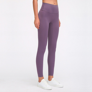 Image 4 - Buttery Soft Naked Feeling High Waist Tight Running Fitness Yoga Sport Pants 4 way Stretch Workout Gym Leggings