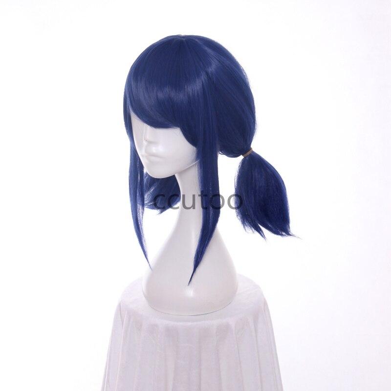 Ccutoo perucas blue double rabo de cavalo
