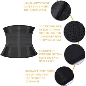 Image 4 - Ceinture de Fitness Xtreme puissance Thermo corps Shaper taille formateur tondeuse Corset taille ceinture Cincher enveloppement entraînement Shapewear minceur