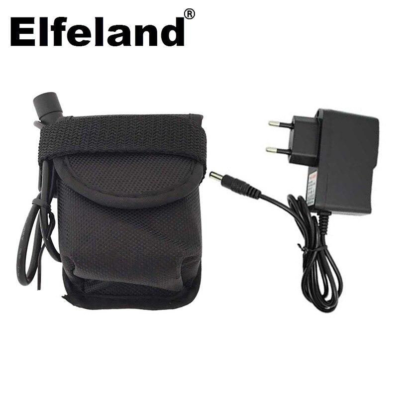 Elfeland 9600mah akku, 6x1865 0 8,4 v batterie für x2 x3 u2 t6 fahrrad led mit fahrrad ladegerät zubehör